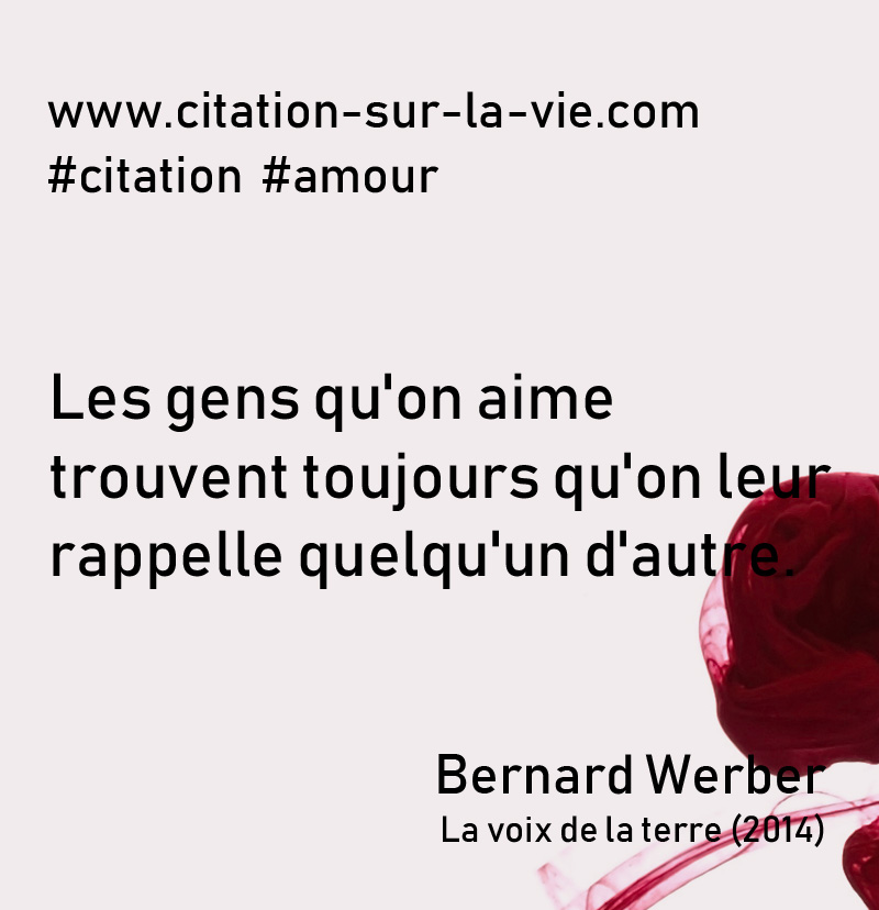 citation amour bernard werber-2