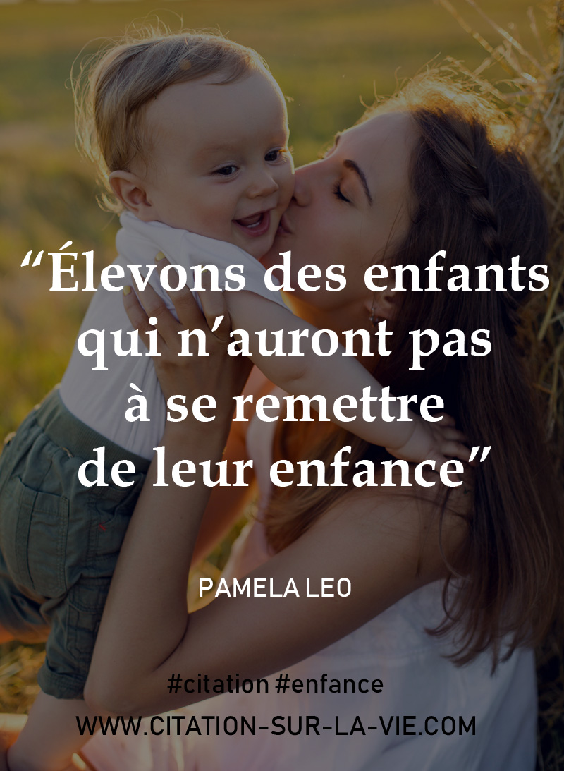 citation enfants