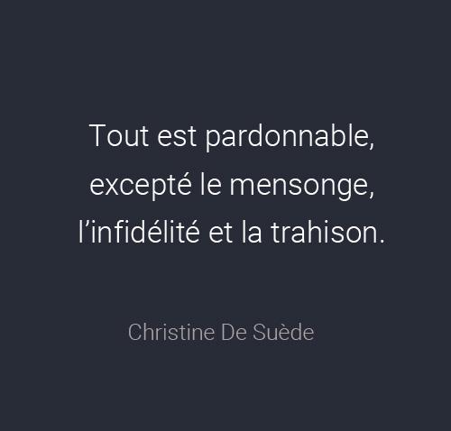 citation amour trahison