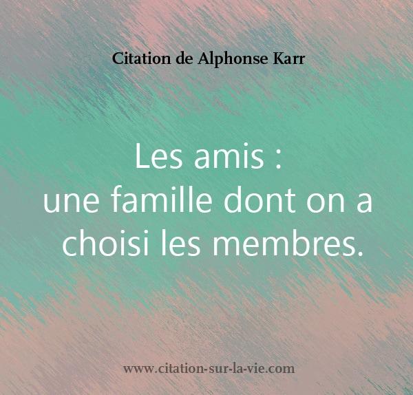 citation les amis  une famille