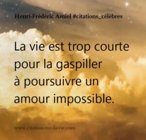 citation amour impossible
