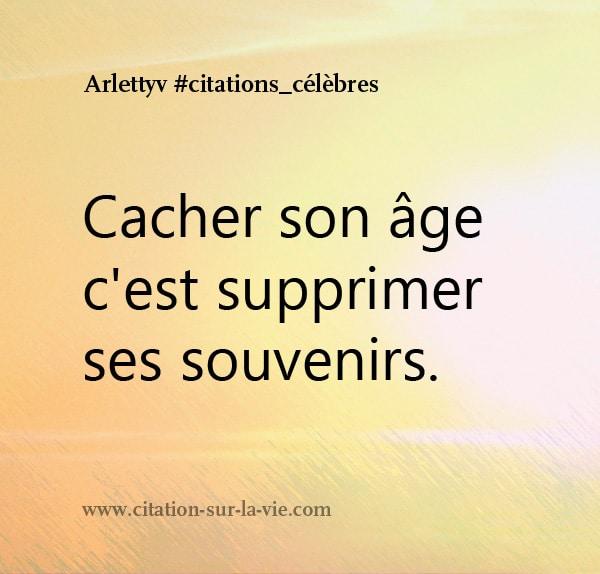 citation proverbes age