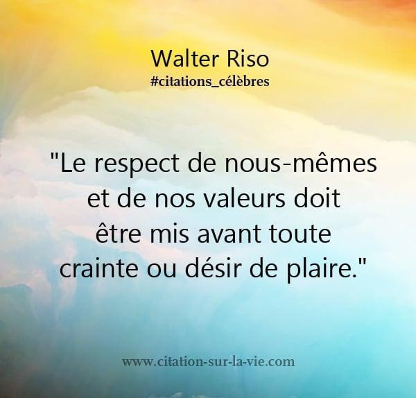 citation valeur respect
